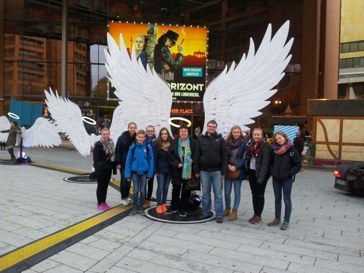 Ausflug der Jugendlichen des Vereins nach Berlin