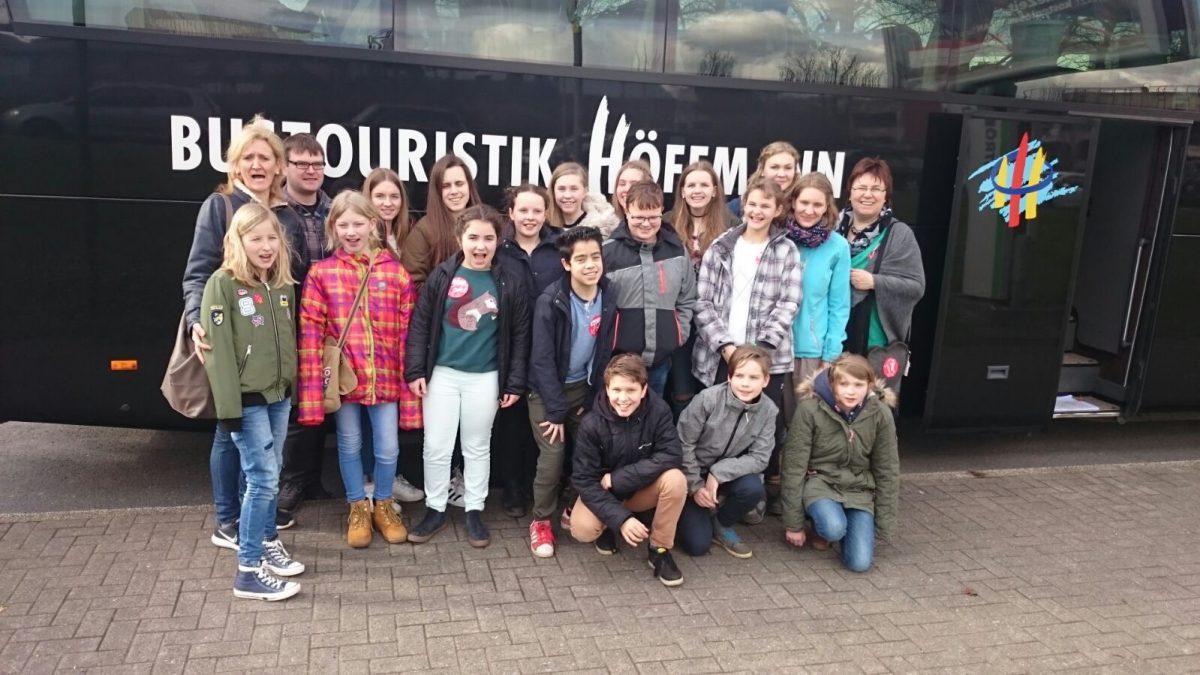 Besuch der Jugendlichen beim Musical Starlight Express